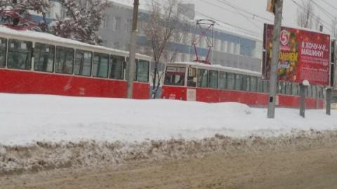 В Саратове не ходят три трамвайных маршрута
