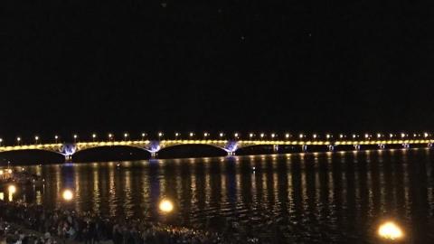 Две видеокамеры, три пеших поста, автомобильный и лодочный патрули будут охранять мост Саратов - Энгельс