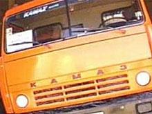 В ДТП с двумя большегрузами погиб один из водителей