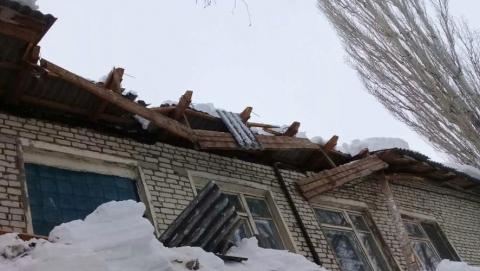 Обрушилась крыша детского сада