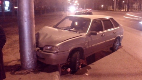 Угнанную у женщины после пьянки машину нашли разбитой