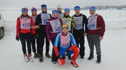 32 работника Балаковской АЭС стали участниками соревнований «Лыжня России»