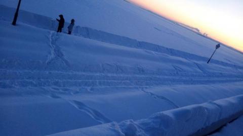Потепление принесет саратовцам снегопад и туманы