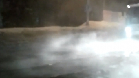 3-ю Дачную затопило. Видео