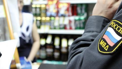 Полиция наказала торговцев за продажу спиртного без документов, по ночам и подросткам