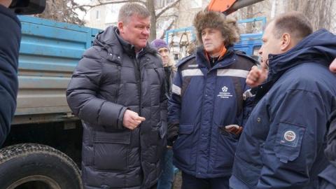 Завершена замена участка водопровода на улице Одесской