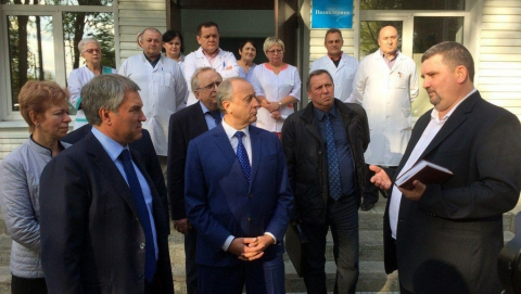 Николай Панков: Проекты Володина помогают обеспечить будущее Ивантеевского района