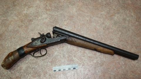 Мужчина 11 лет хранил обрез, сделанный из отцовского ружья