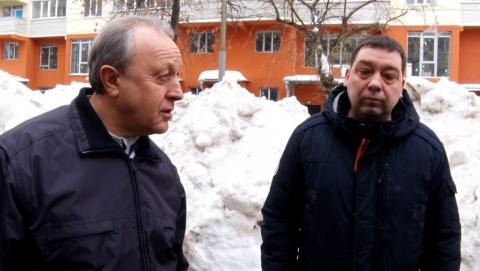 Валерий Радаев вернулся из Сочи и возмутился нерасчищенными улицами Саратова