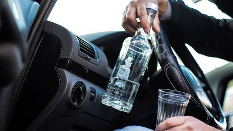 Саратовца снова задержали пьяным за рулем и без прав