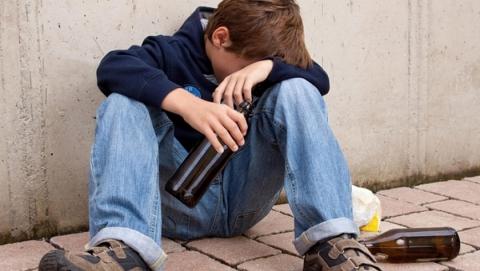 Пьяных детей стали ловить реже