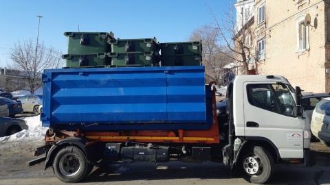 20-тысячный новый контейнер для сбора отходов установили в Заветах Ильича