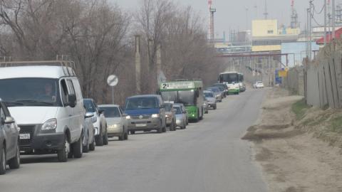 Девятибалльные пробки вернулись в Саратов