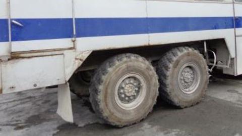 Чиновники предложили запретить выезд фур и автобусов без тахографов