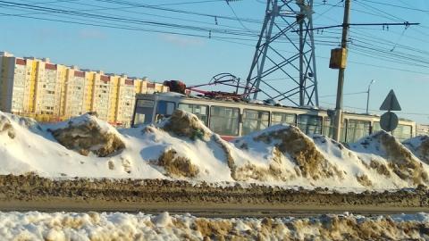 11-е трамваи два часа не ходят в центр города