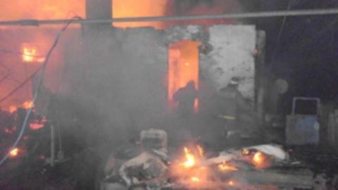 На пожаре погибли двое мужчин