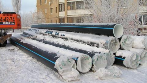 Введен в эксплуатацию новый водовод по улице Ипподромной