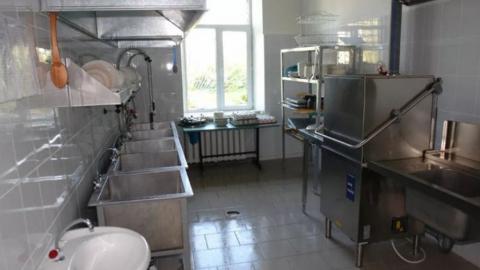 На школьных кухнях нашли насекомых и молоко на полу