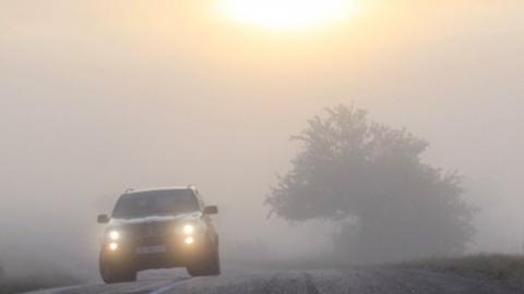 Мокрый снег, туманы, метели и порывы ветра: на трассах будет опасно