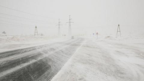 Закрыта дорога от Озинского района до границы с Казахстаном