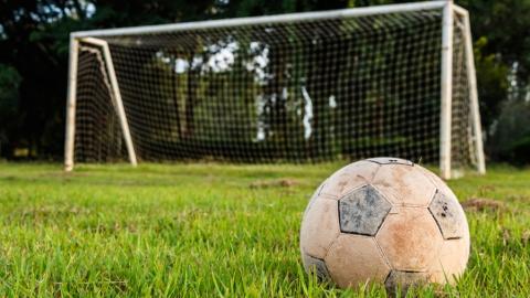 Мужчина украл футбольные ворота и продал их за 500 рублей