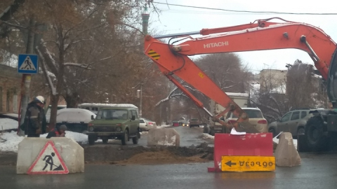 Энергетики перекроют улицу и отключат от тепла 17 домов