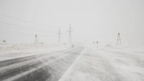Снег, морось и метели сегодня продолжатся