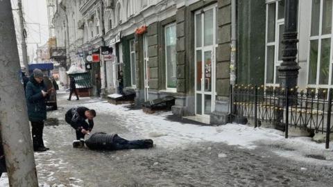 Сосулька с пассажа Лаптева отправила 77-летнего мужчину в кому