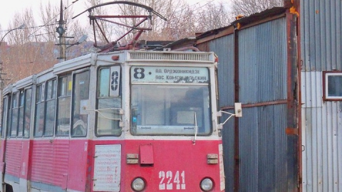 Возле Алтынки сломался трамвай