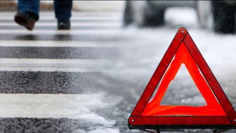 Водитель сбил на пешеходном переходе трехлетнего мальчика