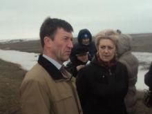 Сергей Канчер проверил готовность Заволжья к паводкам