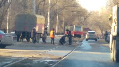 Из-за проблем с рельсами остановились два трамвайных маршрута