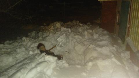 Пенсионер погиб на даче под завалами снега