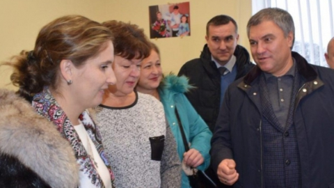 Панков: Поддержка Володина помогает Вольскому району решить проблемы здравоохранения