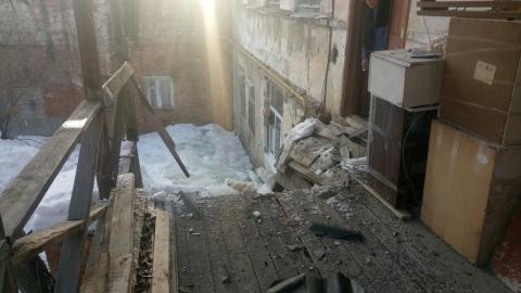 Управление по охране культурного наследия ищет жильцов дома с обрушенной верандой