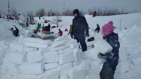 «Концессии водоснабжения - Саратов» создали ледяной дом