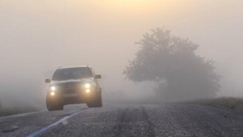 Сегодня днем водителям нужно опасаться гололедицы, к ночи вероятны туманы и снегопад
