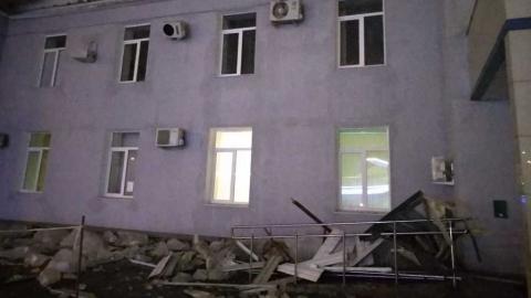 Обвалился карниз саратовского аэровокзала