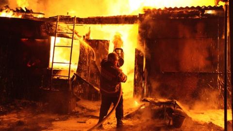 На пожаре в квартире пострадал саратовец