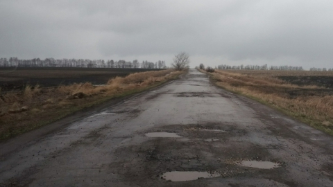 Из-за плохой дороги закрыт междугородный автобусный маршрут