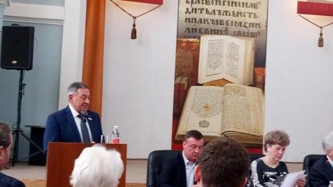 Бориса Шинчука избрали председателем Общественной палаты Саратовской области