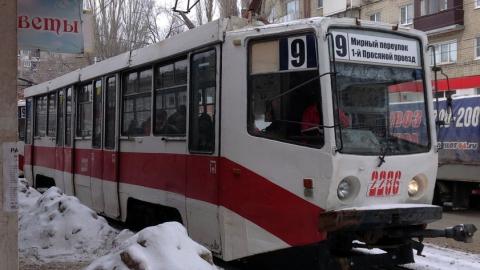 Трамвай №9 остановят из-за угрозы оползня