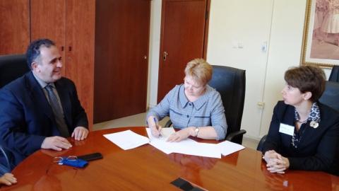 СГТУ и Александрийский технологический университет подписали соглашение
