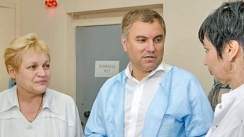 Николай Панков: Володин помог решить проблемы, поднятые краснокутскими врачами