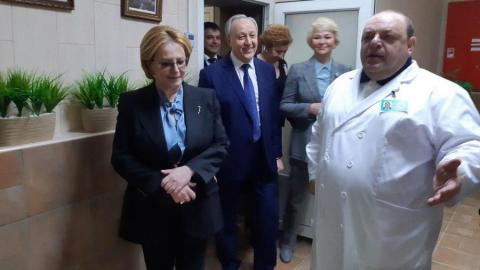 Вероника Скворцова надеется на уникальность онкоцентра в Саратове