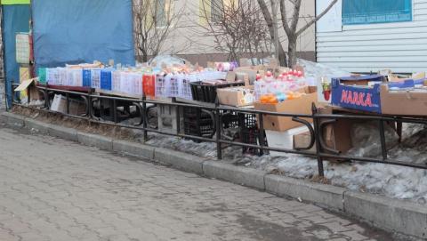16 человек наказали за уличную торговлю