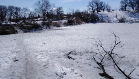 Саратовец жалуется на обмелевший Семхозный пруд