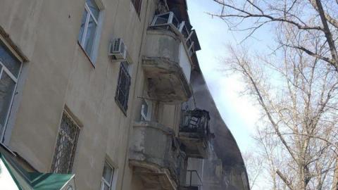 Из рухнувшего сегодня дома эвакуировали людей. Saratovnews получили видео с места происшествия