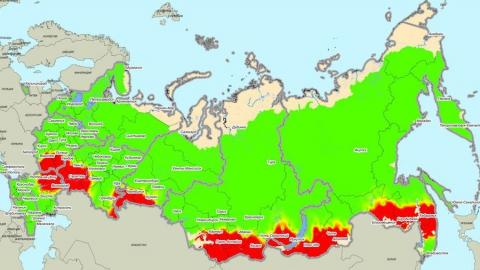 Вся Саратовская область попала в зону повышенного риска лесных пожаров