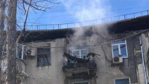 На проспекте 50 лет Октября рухнул дом. Следователи ведут проверку